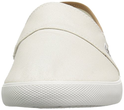 Light Marice Slip ons Brown Canvas White Cotton Off Men's Lacoste FqYUA