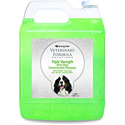 SynergyLabs Triple Strength Dirty Dog Concentrated Shampoo, 1 gallon