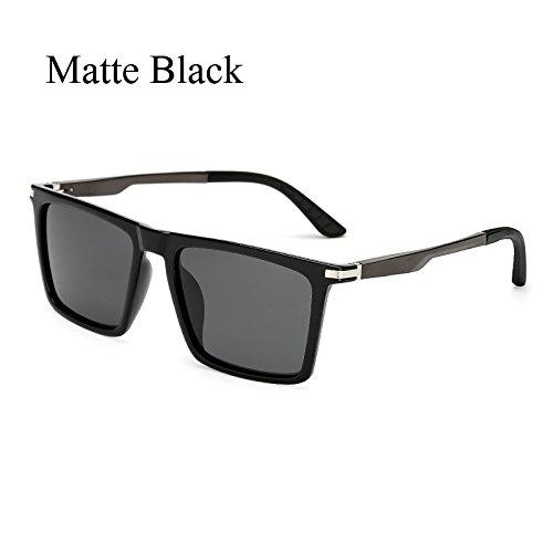 de Gafas Tamaño Grandes para de Hombres Aluminio de Polaroid polarizadas C2 Gafas Gafas KP7035 Hombre Mujer de Sunglasses TL C2 KP7035 Gran Sol Sol de Negro Sol Conducción Cuadrados de Brazos wZOnga