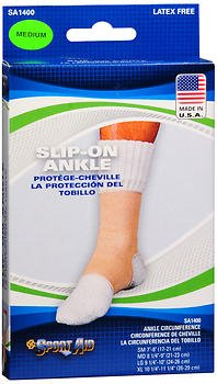 Sport Aid Slip-On Ankle Support Medium - 1 ea., Pack of 6 by SportAid
