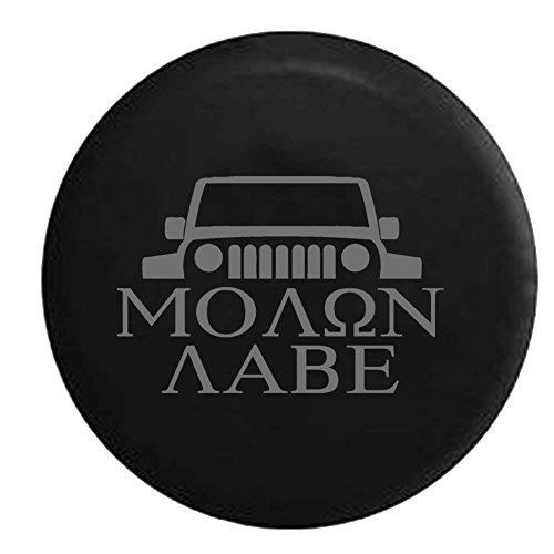molon labe jeep tire cover - 3