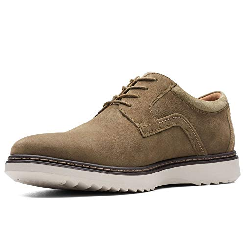 9 5 Shoes Mens Nobuck Olive Clarks Fit Un Geo Wide 44 Casual Eu Lace Uk Dk wFx8nHAqf