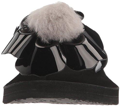 Black Chaussures Noir Ugg Poppy Femme Tongues x0Axpw7a