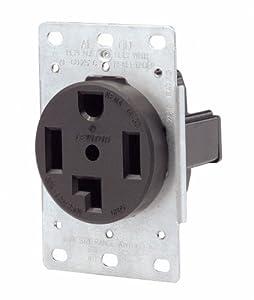 Amazon.com: Leviton 071-00278-000 4 Wire 30 Amp 250 Volt ...
