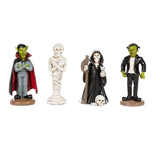 Darice 30014205 Halloween Character Figurines