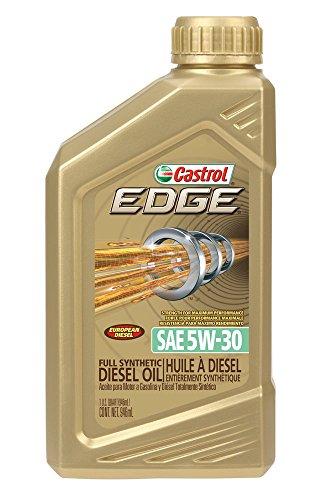 Castrol 06669-6PK Edge Euro 5W30 Diesel Motor Oil