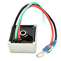 EZ-GO Gas Golf Cart Voltage Regulator - 27739-G01 - Fit 1994 & Up - USA Shipping - HD Switch