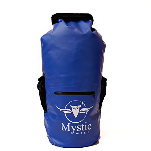 Waterproof Floating Backpack Dry Bag 20L - for Kayaking, Boating, Hiking, Rafting, and Fishing, and the Beach, also great for a Traveling Vacation Go (Mystic Water)
