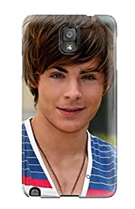 Defender Case With Nice Appearance (zac Efron) For Galaxy Note 3
