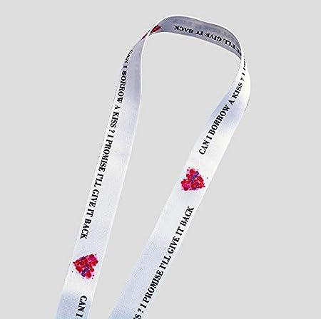 ideale per cellulare chiavetta USB style 42 badge chiavi Cordino da collo di alta qualit/à lettore mp3 con stampa colorata su entrambi i lati