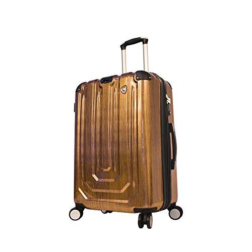 mia-toro-luggage-spazzolato-metallo-hardside-29-inch-spinner-gold-one-size