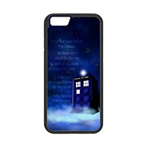 iPhone 6 Protective Case - Quotes Police Box Hardshell Cell Phone Cover Case for New iPhone 6 by mcsharks