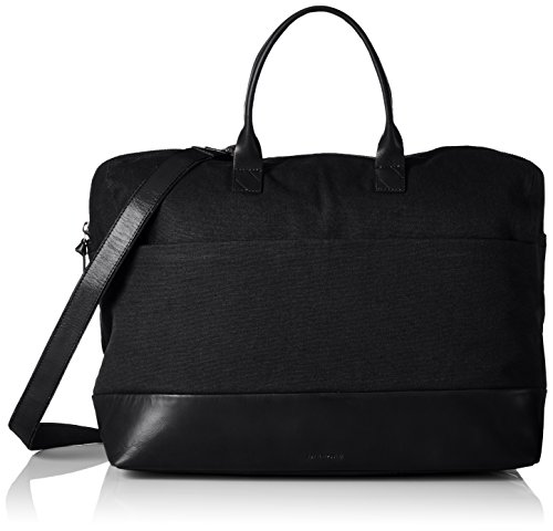 Royal Republiq Courier ´stay-overâ´, Borse a spalla Unisex - Adulto Nero (Black)