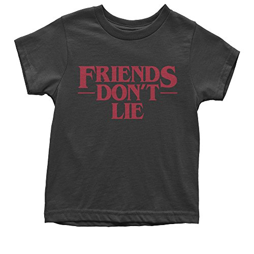 Expression Tees Youth Friends Don't Lie T-Shirt Medium Black (Youth T-shirt Only Medium)
