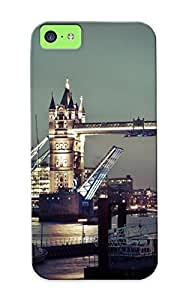 High-quality Durable Protection Case For Iphone 5c(beautiful London At Night ) For New Year's Day's Gift