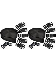 ULTNICE 1 Set Bagage Strap Nylon Snelsluiting Utility Riem Koffer Riem Platte Touw Bundeling Riemen Vastsjorpunten Strap Voor Reizen Zakenreis Cargo Backpacken