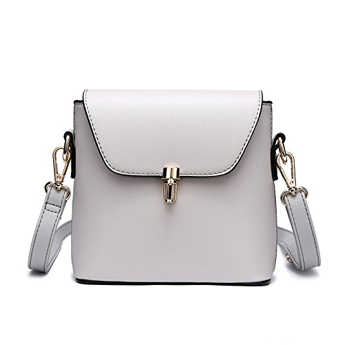 Mode Sac Main Simple Sac à Décontractée Mini à Womens Bandoulière Bandoulière BAILIANG Gray PU w0EEqP