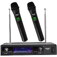 Freeboss KV-8500 VHF 2 Handheld Wireless Microphone...