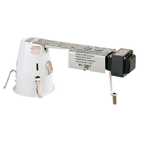 4 in. - Miniature Low Voltage 50W Remodel Housing with Quick Connect - 12 Volt- PLT PLR404Q - Low Voltage Trims
