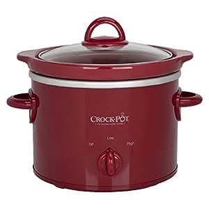 Crock Pot Classic 2 Quart Manual Control (Red) by Sunbeam Products Inc.