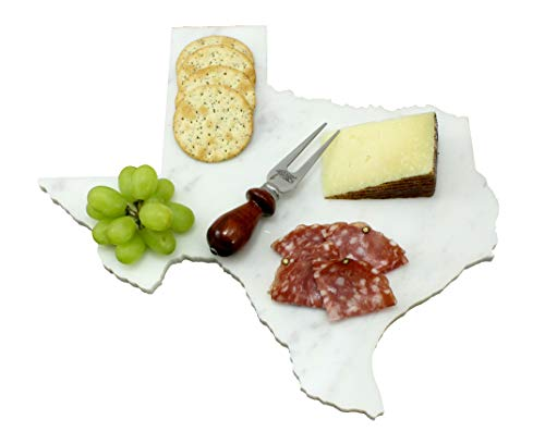 Custom Texas Marble Cutting Board, Serving Tray, or Cheese Board- Personalized with Laser Engraving