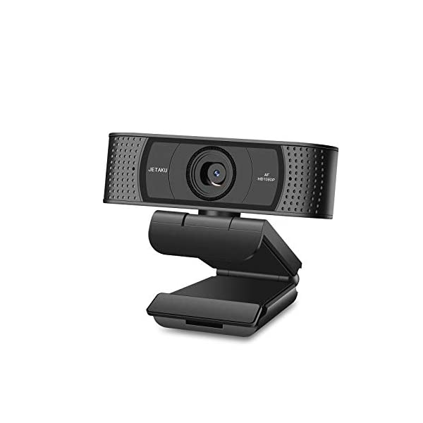 Webcam with Microphone Computer Camera with Privacy Shutter for PCMacLaptopMacBookUSB 1080P Webcam
