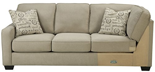 Signature Design by Ashley Alenya Left Arm Facing Sofa, Quartz