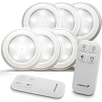 Lightmates Lite00113 Led Wireless Puck Light With Switch