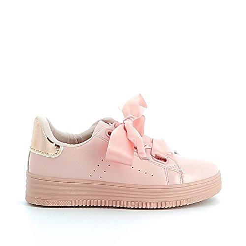 Misstic - Zapatillas de Deporte de Material Sintético Mujer Rose