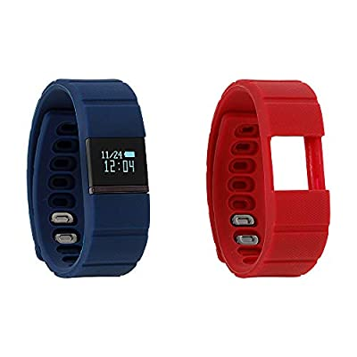 iTouch iFitness Bluetooth Smart Watch with 2 Sport Bands, Modern Clock, Calorie Tracker, Step Counter, Fitness and Activity Tracking, Remote Camera Function, Sleep Monitor, USB Charging Cable