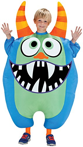Morris Costumes SS55177G Inflate Scareblown Blue Child
