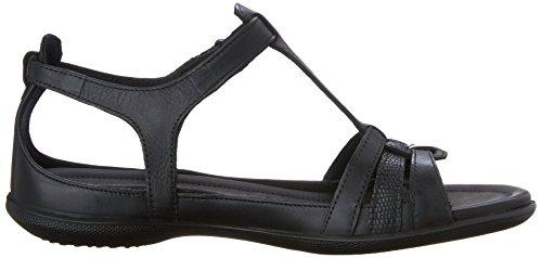 Gladiator Black Strap Flash Sandal T ECCO Womens Hw8SnqSF