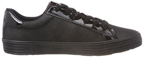Oliver Black 21 Antic Sneaker Schwarz 23615 Damen s 2 AYxdaHH
