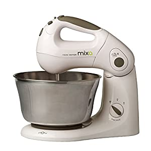 "NexGenStore ""Mixa"" Powerful Patented Twin Motor 10 Speed Stand and Hand Mixer – This mixer is great, wish the bowl was larger but other than"