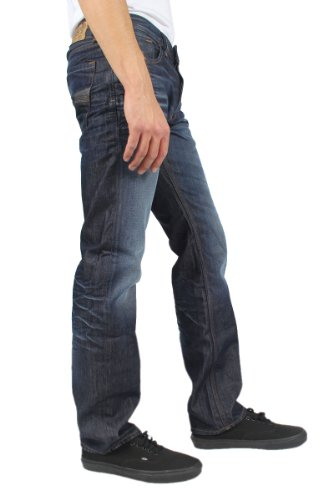 Diesel - Mens Larkee Relaxed Jeans In Wash: 0073N