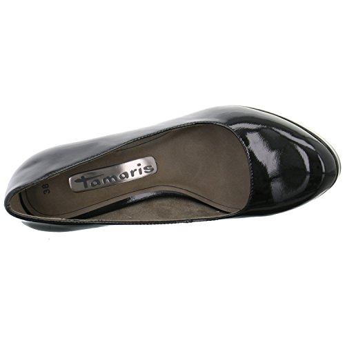 Tamaris - Zapatos de vestir para mujer negro negro 36