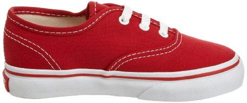 Authentic Rouge Mixte Mode Vans Baskets red Bébé T aZTw68nq6