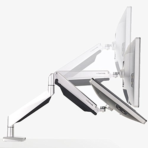 - Loctek LCD Arm Desk Monitor Mount Fits 10''-27'' Monitor (D7A)