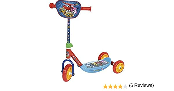 Super Wings- Patinete de 3 Ruedas, (Amijoc Toys 657)