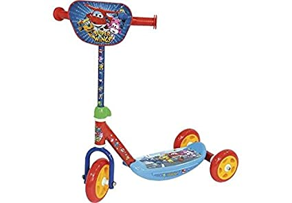 Amazon.com: Super Wings Scooter 3 Wheels (amijoc Toys 657 ...