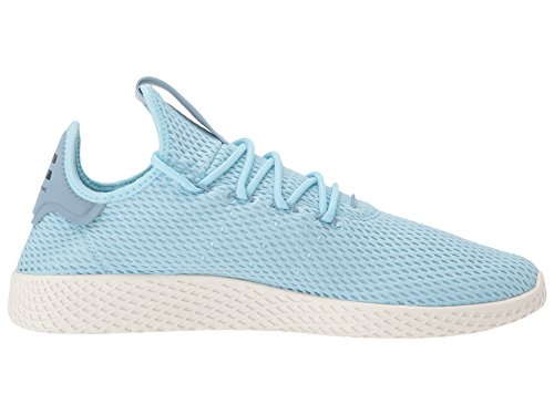 adidas Originals Men's Pharrell Williams Human Race Ice Blue/Ice Blue/Blue 4 D US by adidas Originals (Image #7)