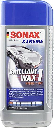 SONAX 201200 XTREME BrilliantWax 1 Hybrid NPT, 500 ml