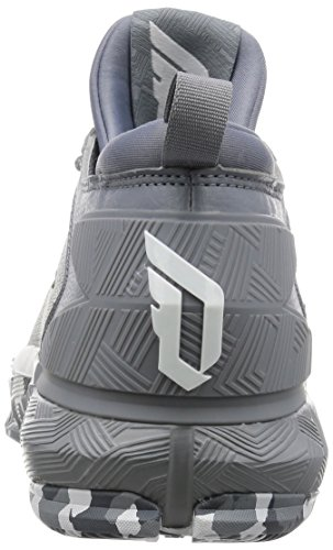 Scarpe Da Basket Stringate Adidas D Lillard 2 Grigie