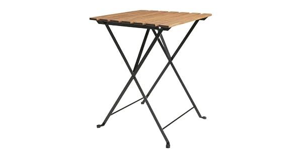 Amazon.com: IKEA TARNO – Mesa plegable, acacia, acero – 55 x ...