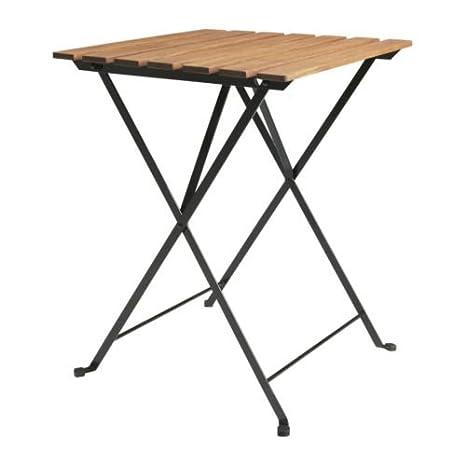 Tavoli In Legno Pieghevoli Ikea.Ikea Tarno Tavolo Pieghevole In Legno Di Acacia Acciaio