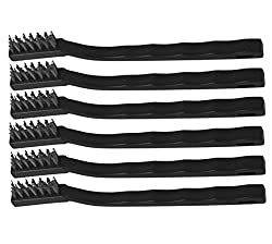Iconikal Mini Wire Brush 6-Piece Set (Stainless Steel)