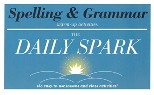 Amazon.com: Spelling & Grammar (The Daily Spark): 180 Easy-to-Use ...