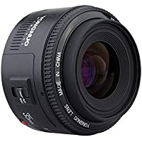 New YN35MM F2 Large Aperture Auto Focus SLRC Lens for Canon EF EOS Camera