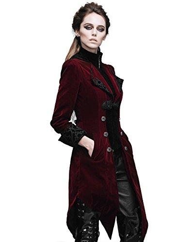Fashion Maniche Donna Lunghe Giacca Devil fZqwBw