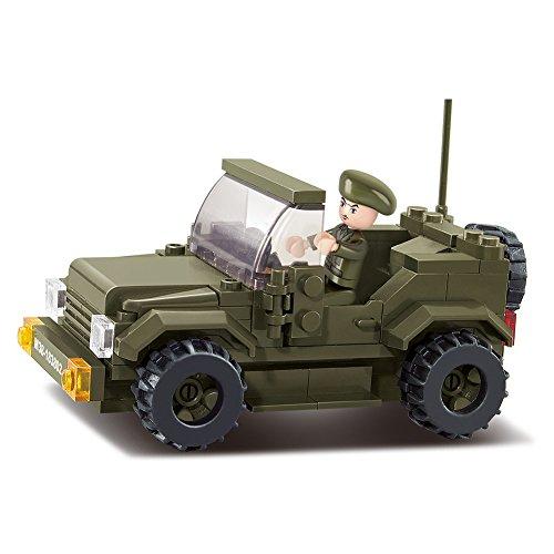 Sluban Military Blocks Army Bricks Toy - Prowl Car